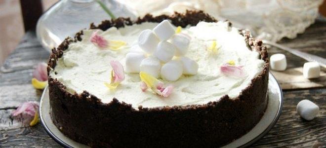 крем из маршмеллоу для торта