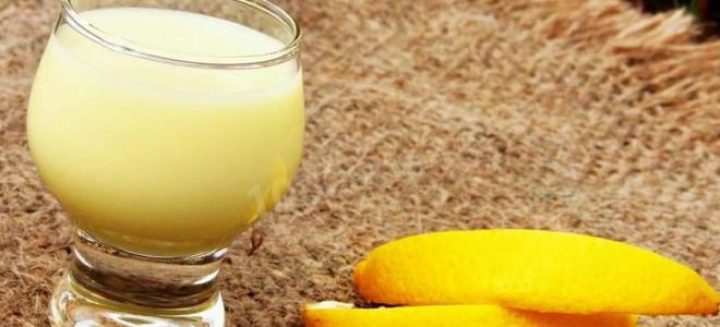 Крем ликер лимончелло – рецепт