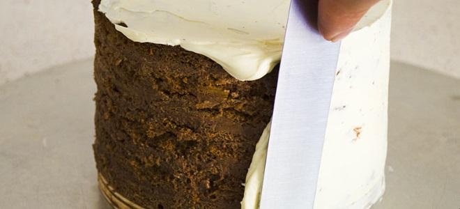 крем с маскарпоне для выравнивания торта