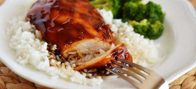 рецепт курица терияки с овощами