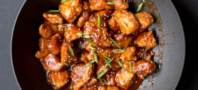 Как приготовить курицу в сладком соусе