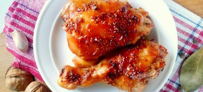Куриные бедра в соевом соусе в мультиварке