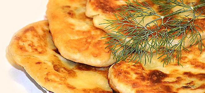 Лепешки из картофельного пюре с чесноком — photo 3