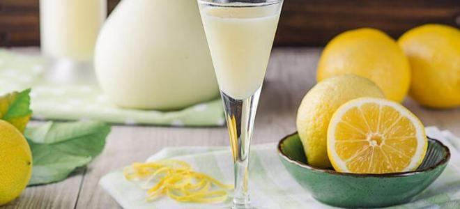 Лимончелло со сливками – рецепт
