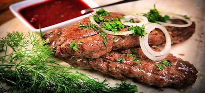 люля кебаб из фарша на мангале рецепт