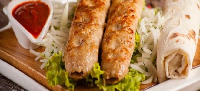 люля кебаб рецепт на мангале из курицы