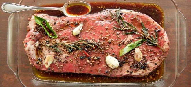 В чем мариновать говядину