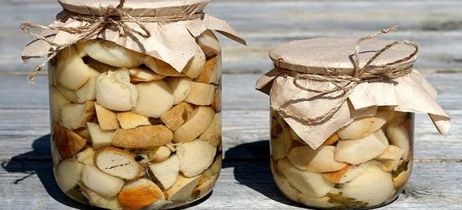 Маринованные маслята с лимонной кислотой – рецепт