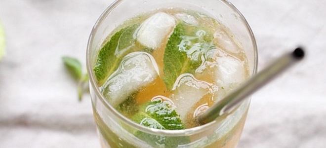 Мохито с водкой - рецепт