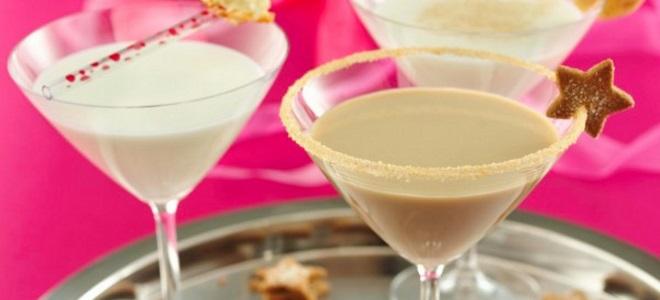 молочный алкогольный коктейль