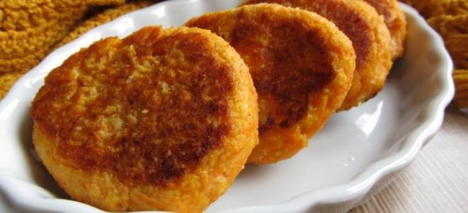 Морковно-картофельные котлеты – рецепт