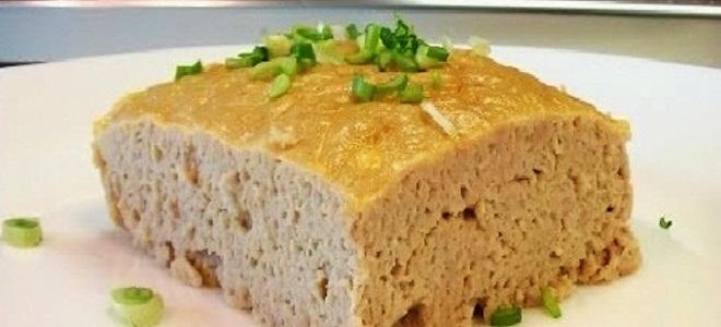 мясное суфле рецепт с фото