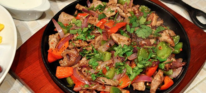 Мясо с овощами рецепт из свинины #1