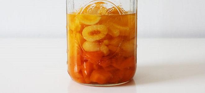 Наливка абрикосовая на спирту