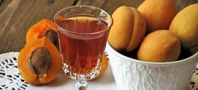Наливка из абрикосов собственного брожения