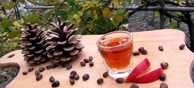Настойка на кедровых орешках на самогоне рецепт