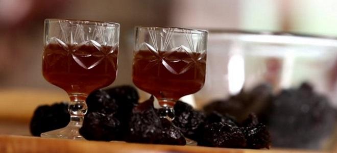 Настойка самогона на черносливе рецепт