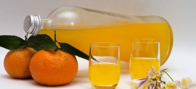 настойка самогона на сухих мандариновых корках рецепт