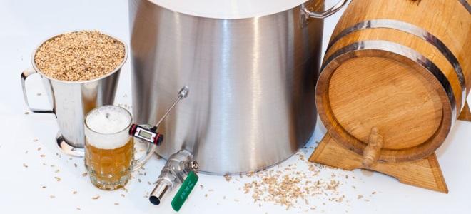 Рецепты приготовления пива в мини пивоварне самогонный аппарат элит 2