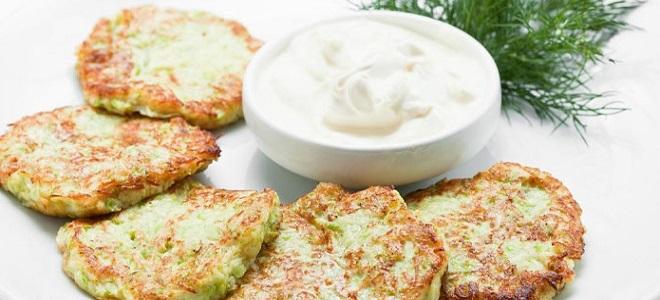 Оладьи из кабачков с сыром, чесноком и картофелем - рецепты в духовке и на сковороде