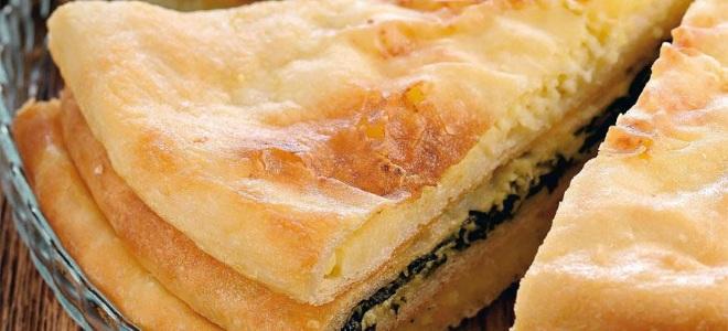 осетинский пирог с адыгейским сыром