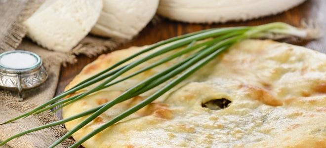 осетинский пирог с брынзой рецепт