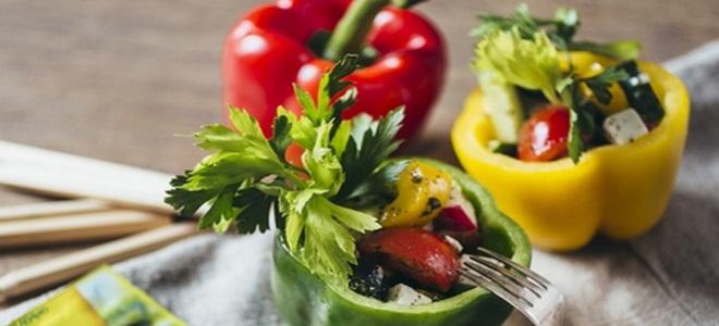 острый пикантный салат
