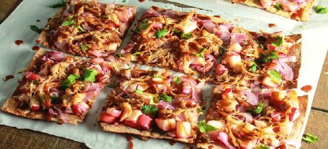 пицца в лаваше рецепт с фото в духовке