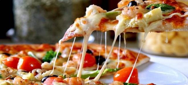 пицца с артишоками рецепт