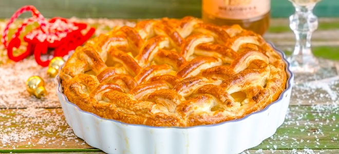 Быстрые слойки с абрикосами в духовке - рецепт пошаговый с фото