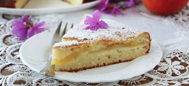 Простой пирог из творожной массы #5