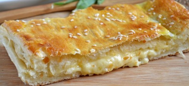 Пирог с сыром сулугуни рецепт