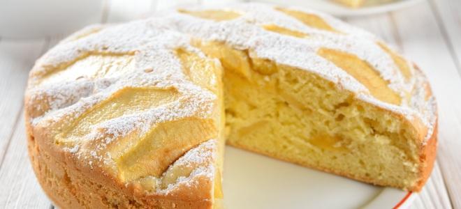 рецепт яблочного пирога в мультиварке с фото
