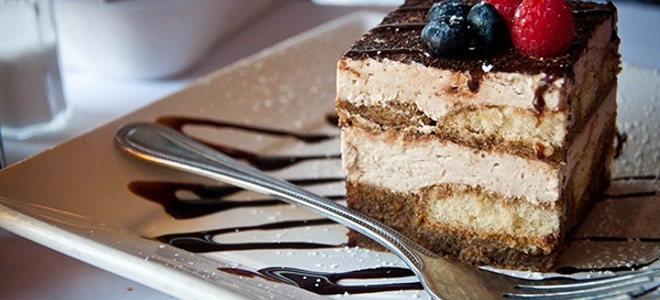 Пирожное тирамису - рецепт
