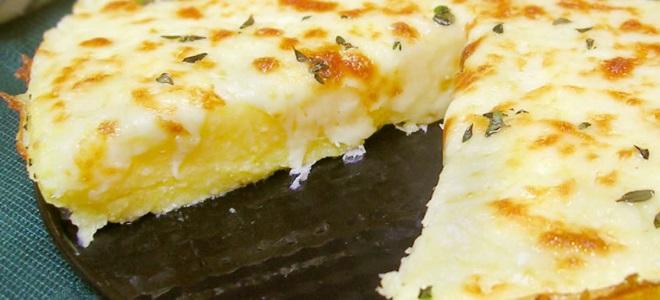 полента с сыром рецепт