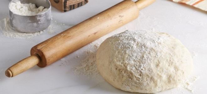 Тесто постное дрожжевое для пирожков - рецепт пошаговый с фото