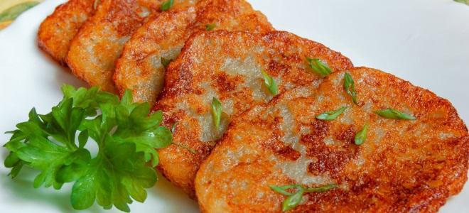 постные драники из картошки рецепт