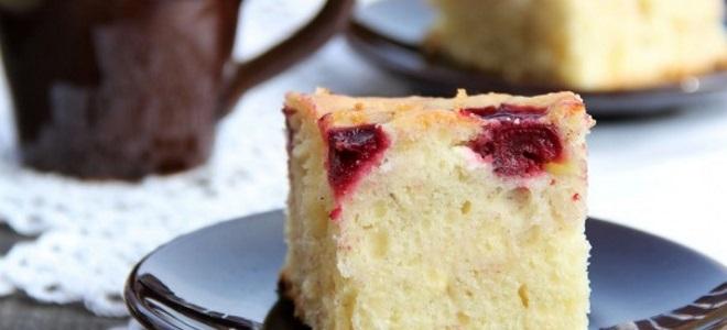 Постный пирог с вишней в духовке и в мультиварке - рецепты из шоколадного, дрожжевого и песочного теста