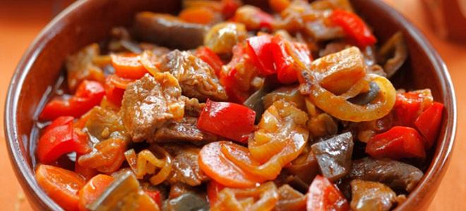 Овощное рагу с картошкой кабачками и баклажанами рецепт с фото в мультиварке