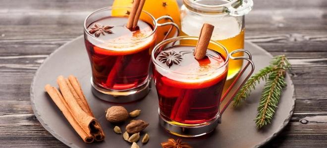 рецепт глинтвейна на красном вине
