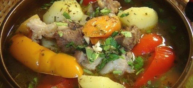 рецепт хашламы из говядины по армянски