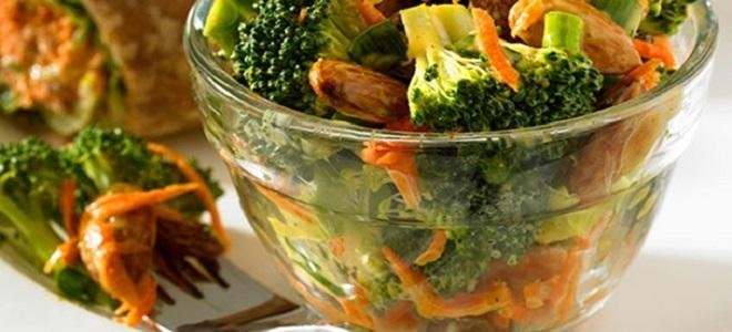 Рецепт капусты брокколи по-корейски