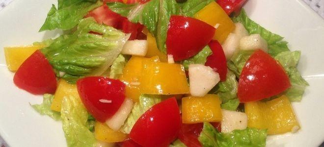 рецепт овощного салата для детей