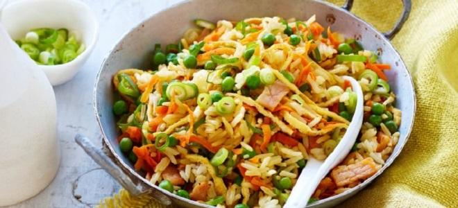 если есть рис с овощами можно похудеть