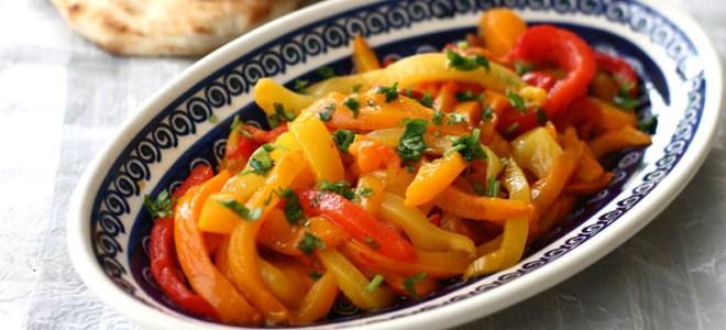 в перце болгарском салат
