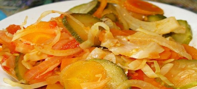 охотничий салат рецепт горячий