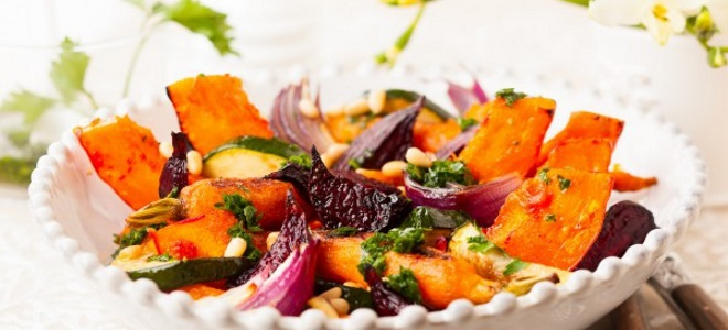 Салат из тыквы рецепты быстро и вкусно