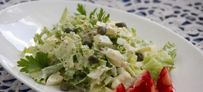 самый вкусный салат с каперсами рецепт