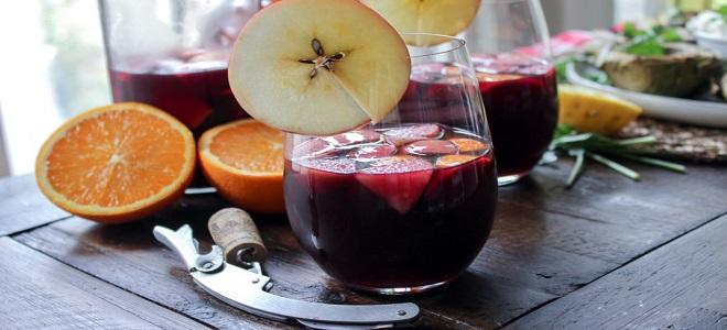 Сангрия - рецепт классический из красного вина
