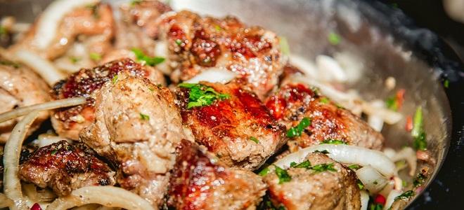 Шашалык в духовке из свинины в рукаве
